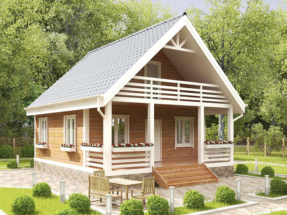 Пример готового дома