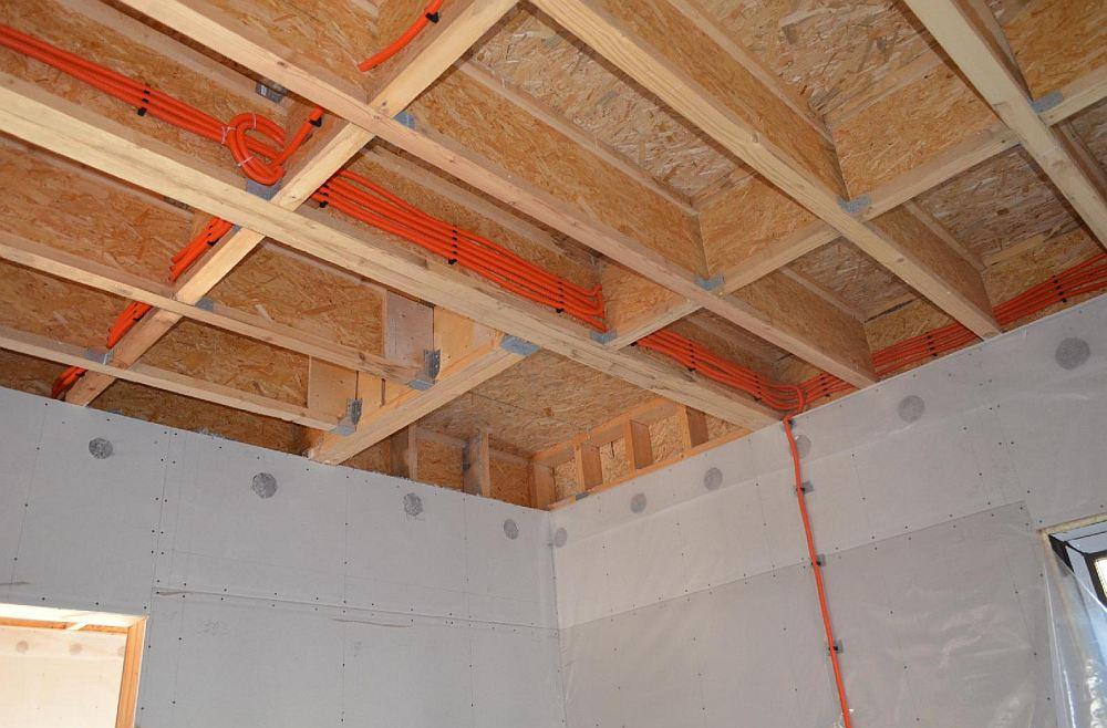 Монтаж в потолке