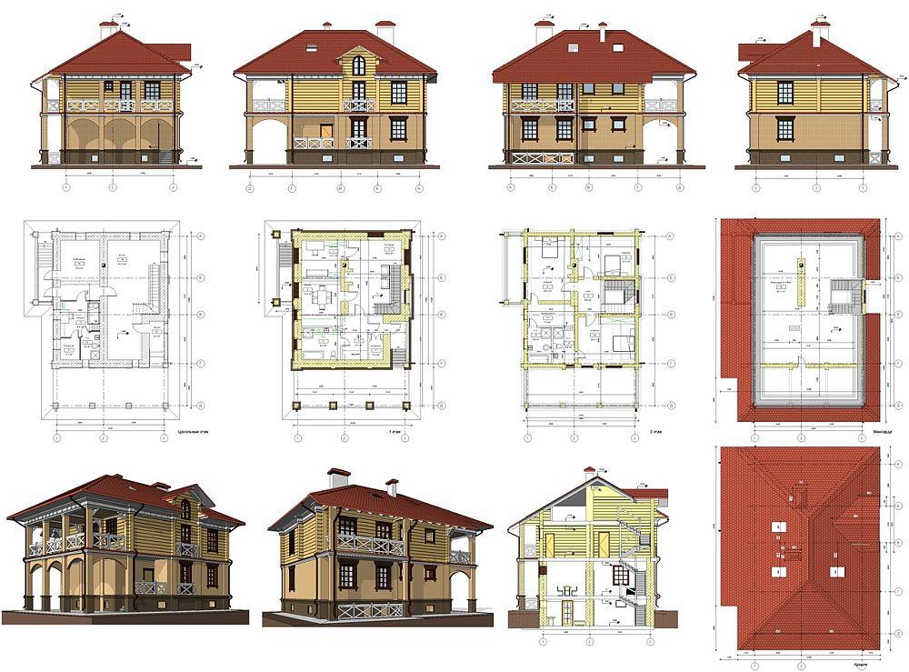 Проектирование каркасного дома