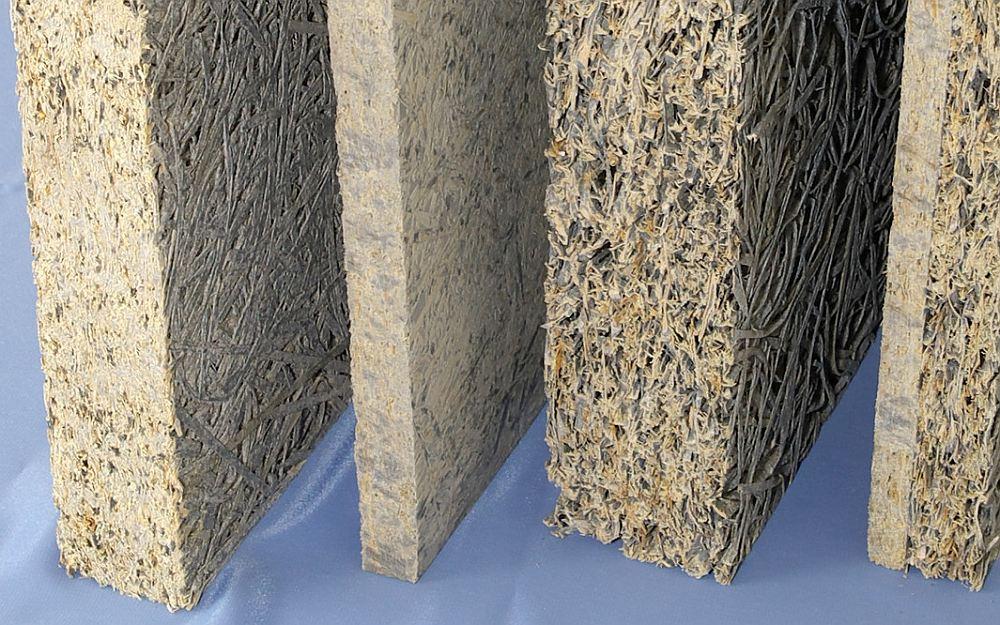 Плиты фибролита разной толщины