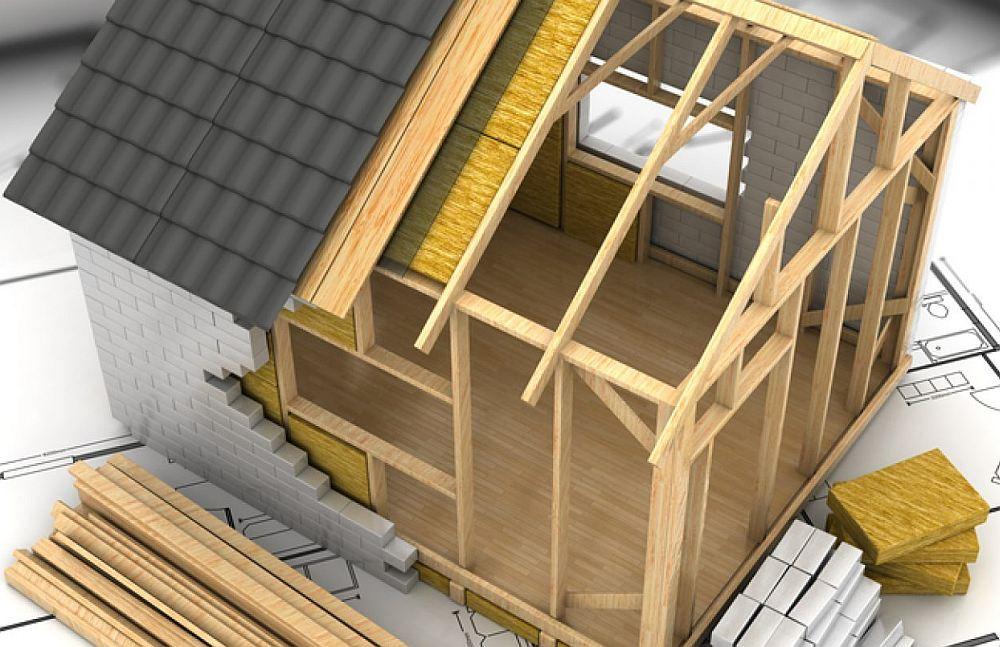 Визуализация устройства каркасно-рамочного строения