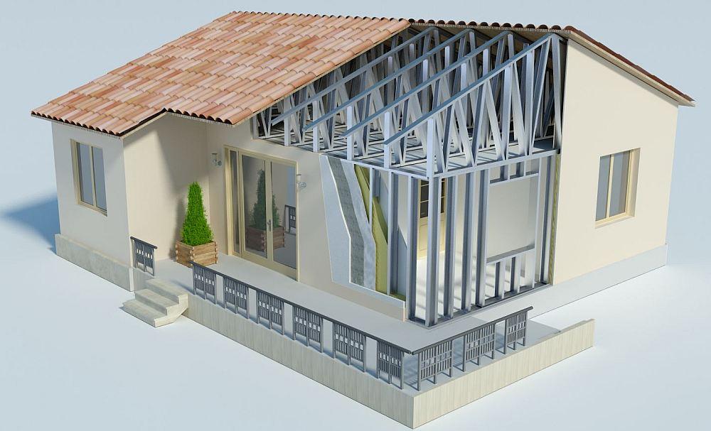 Дом ЛСТК в разрезе