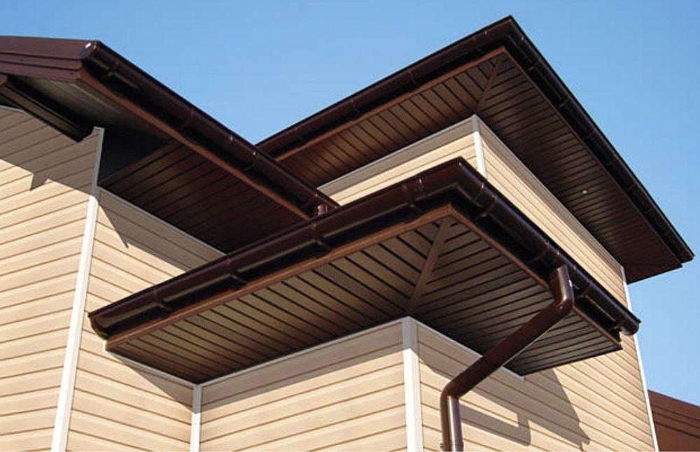 Обшивка элементов крыши