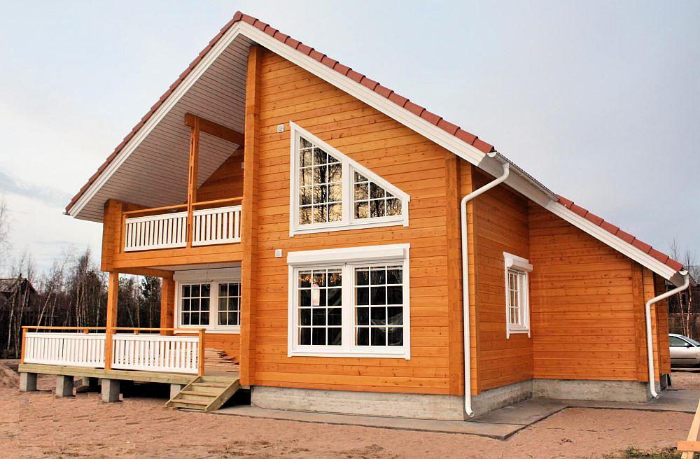 Оригинальный дом по канадской технологии