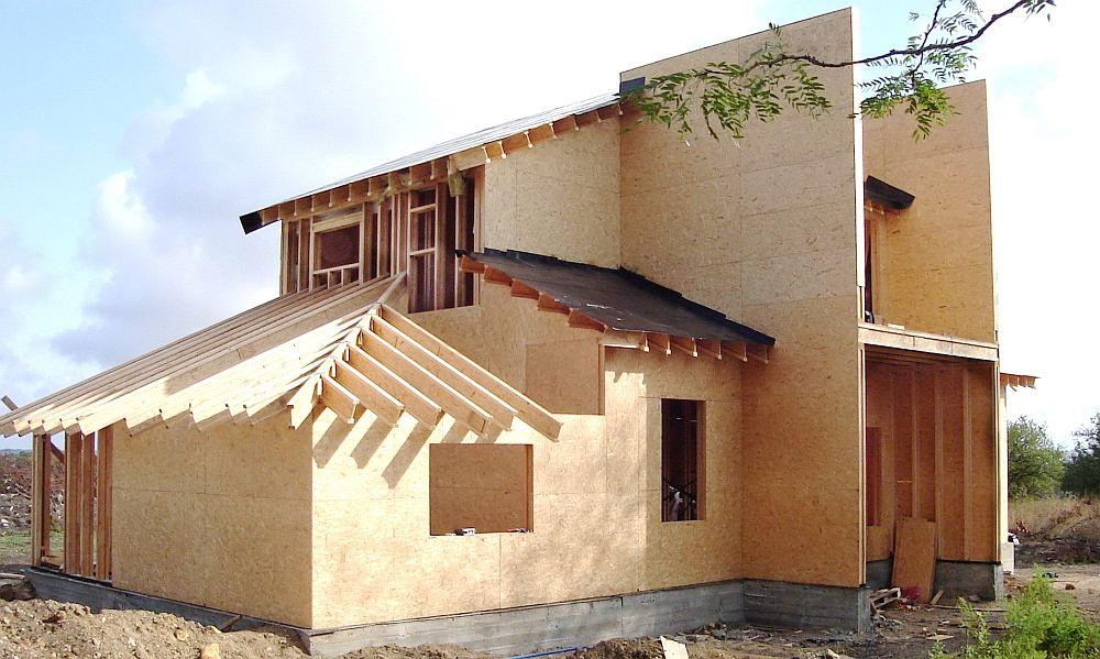 Фасад без отделки