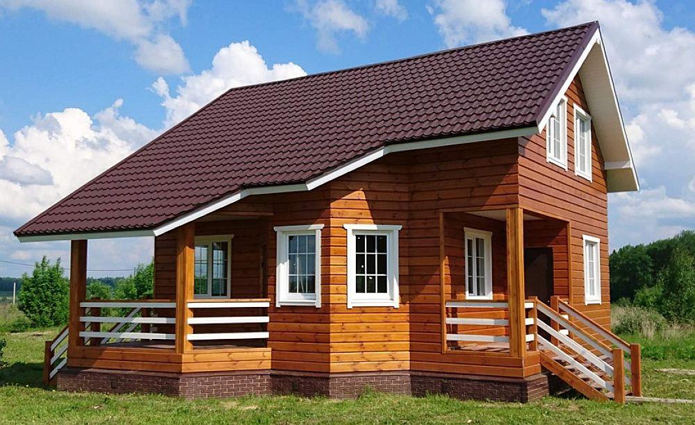 Каркасный дом 120 кв. м