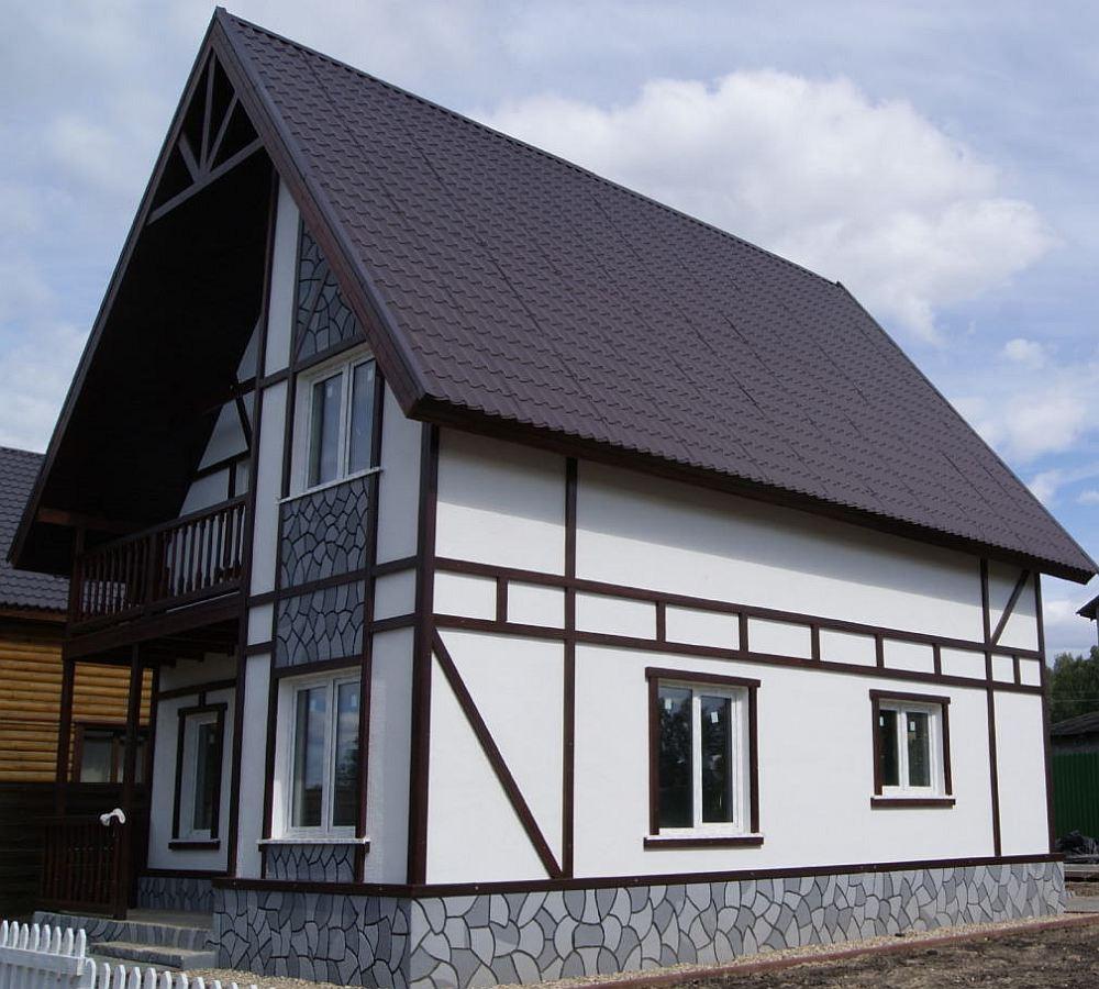 замене топливного фасад дома варианты отделки фото центр расположен правом