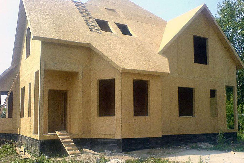 СИП-панельный дом