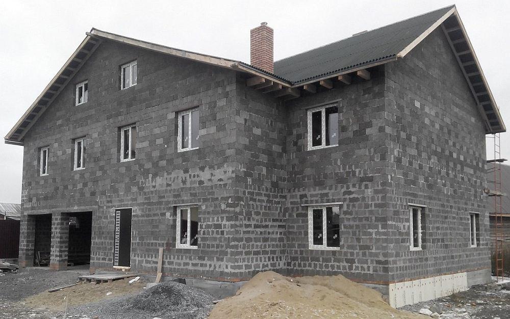 арболитовые блоки дома