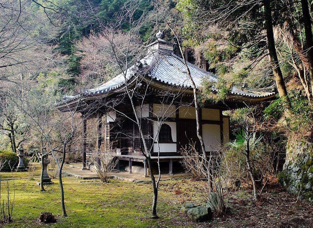 Японский домик для дачи