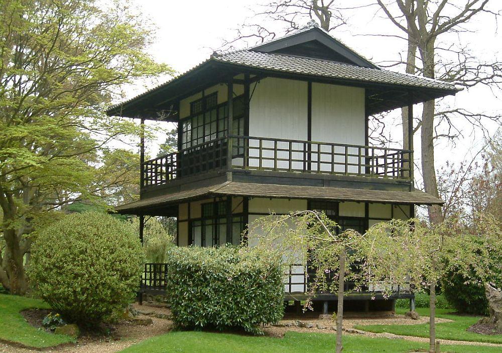 Каркасный дом в японском стиле
