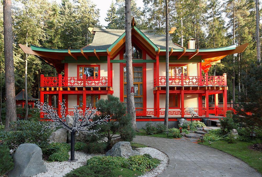 Японский дом в современном исполнении