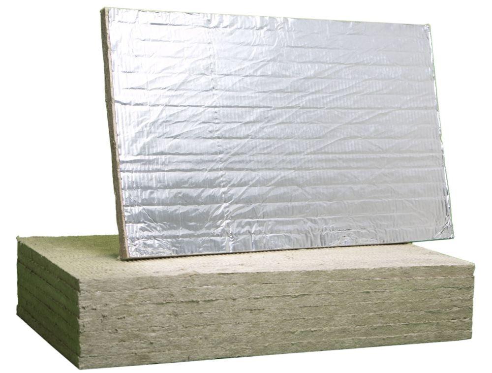 Фольгированный базальтовый теплоизолятор