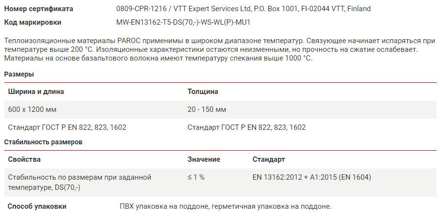 Сертификаты Парок