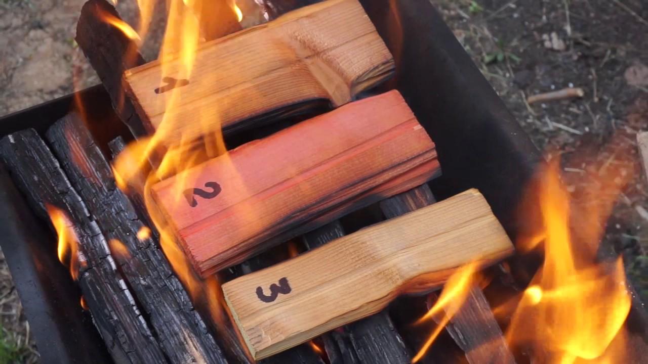Испытание огнезащитных пропиток