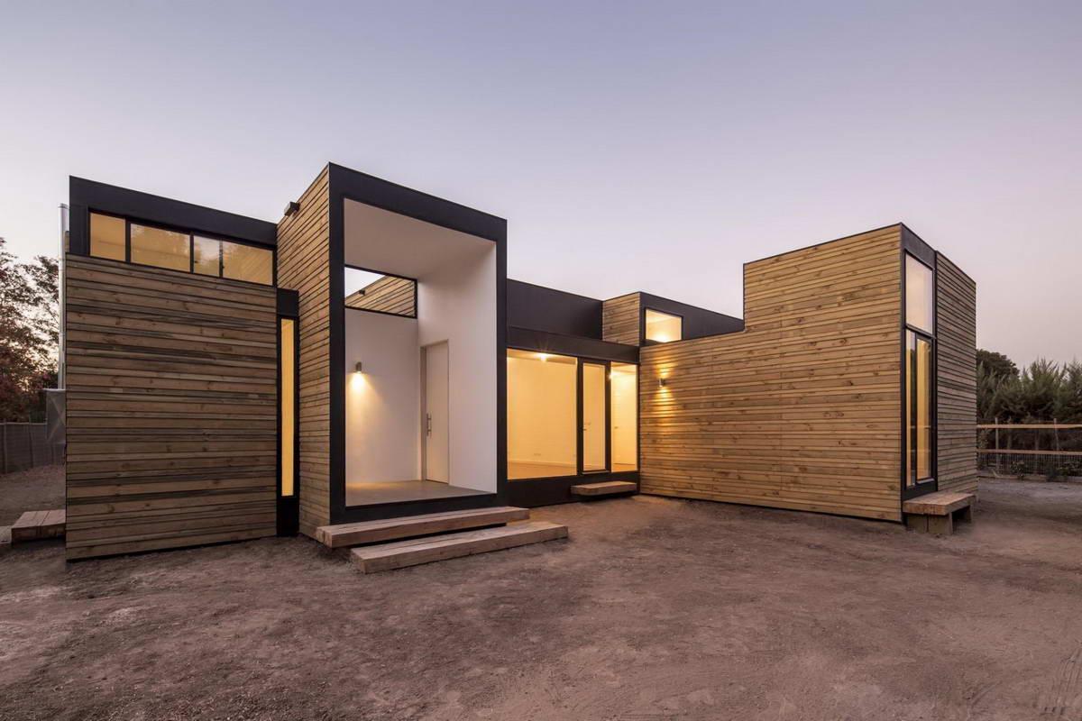 Модульный дом из СИП-панелей