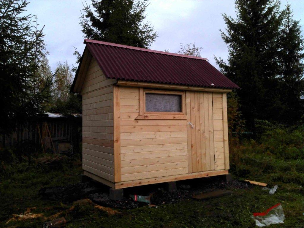 Крыша сарая из Ондулина