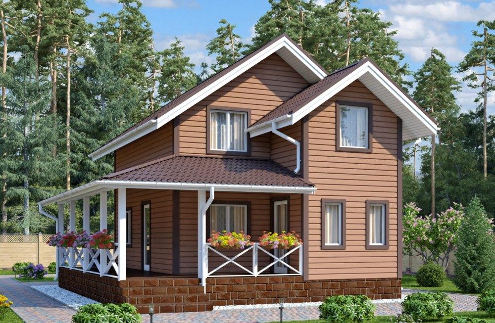 Дом из СИП, проект