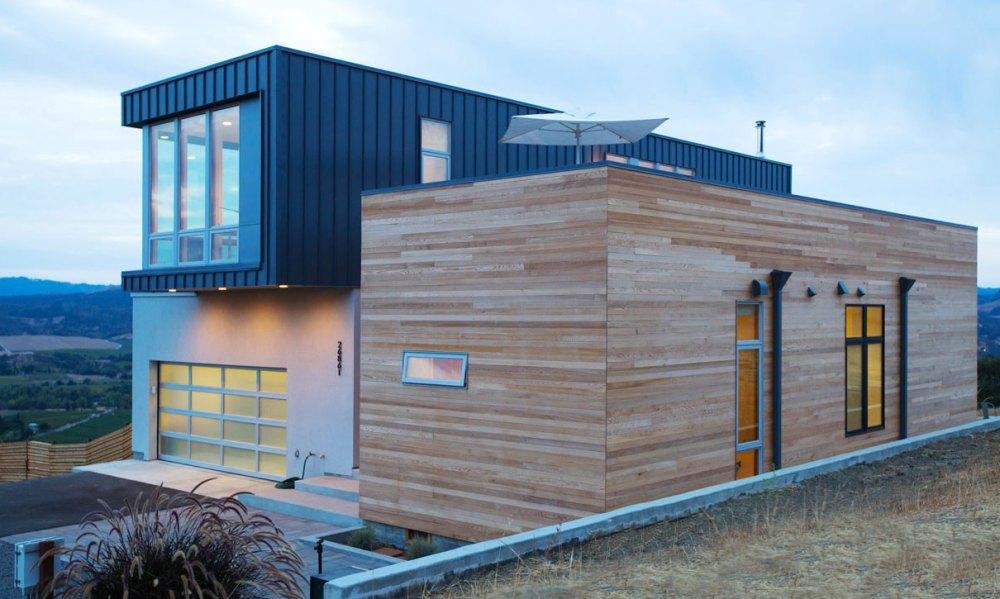 Большой дом из модулей