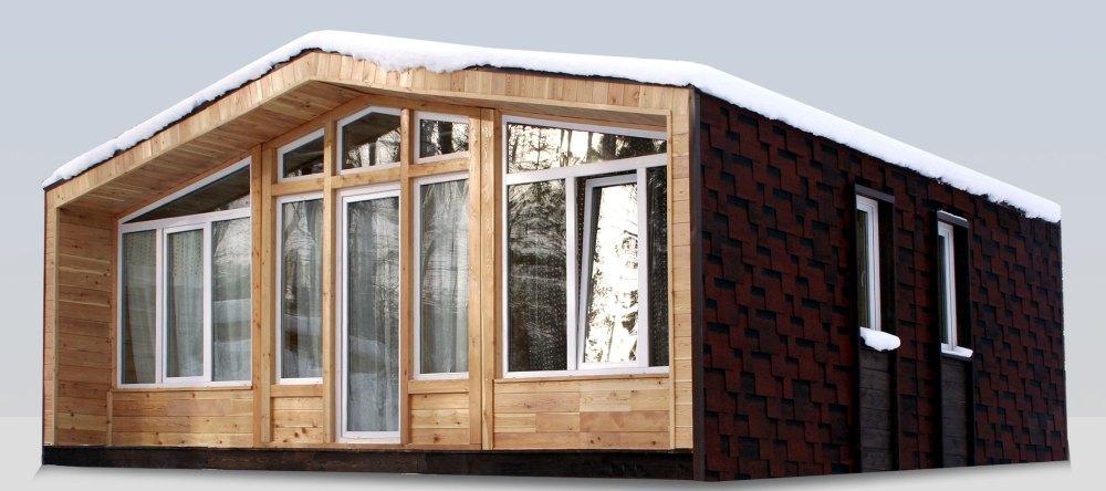 Каркасный дом из готовых модулей