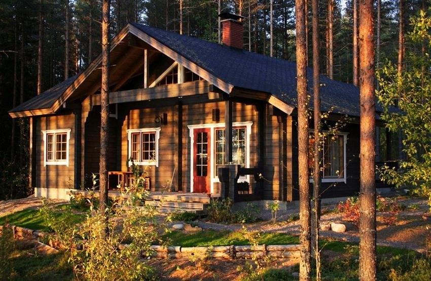 Типичный финский домик
