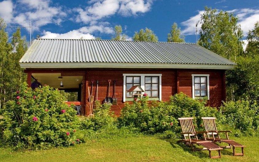 Одноэтажный дом по финской технологии